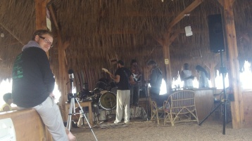 Recording at Dahab
